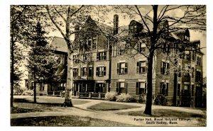 MA - South Hadley. Mt Holyoke College, Porter Hall