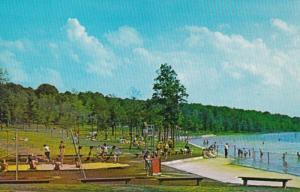 Pennsylvania Cambria County Swimming Area At Prince Gallitzin State Park