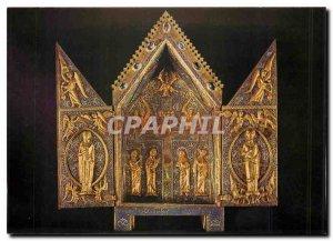 Modern Postcard Chartres Cathedral Eure et Loire Triptych of Saint Aignan