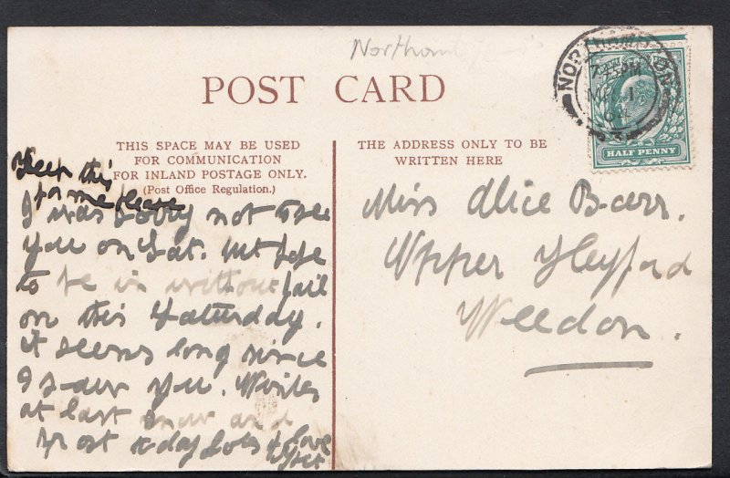 Northamptonshire Postcard - Castle Ashby, Northampton  C1309