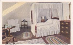 Room In Which Mrs Washington Died Mount Vernon Virginia
