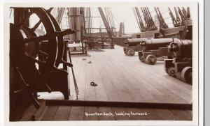 HMS Victory; Quarterdeck, Looking Forward RP PPC, Unposted