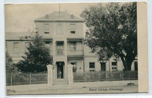 Marist College Uitenhage Eastern Cape South Africa 1907 postcard