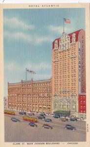 Illinois Chicago Hotel Atlantic Curteich