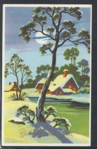 Greetings Postcard - Happy New Year - Gelukkig Nieuwjaar     RS20740