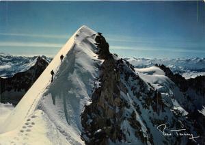 BR1551 Suisse Brise de pierre A breezy crag  switzerland