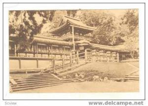 Deer Grazing at Kasuga Shrine In The Park, Nara, Japan, 20-30s