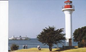 Georgina Point LIGHTHOUSE , Mayne Island , B.C. , Canada , 50-70s
