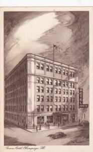 Inman Hotel, Champagne, Illinois, 1900-1910s