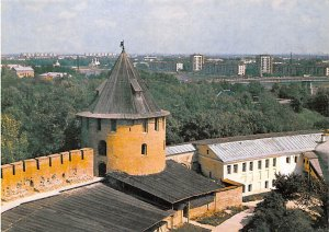City and the Theodore Tower of the Novgorod Russian Federation, Russia Unused