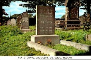 Ireland Co Sligo Drumcliff Yeats' Grave