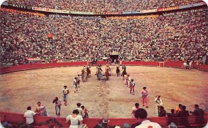El Paseo de as Cuadrillas Tarjeta Postal Bullfighting Unused