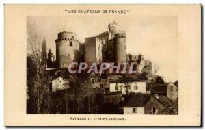 Old Postcard Bonaguil