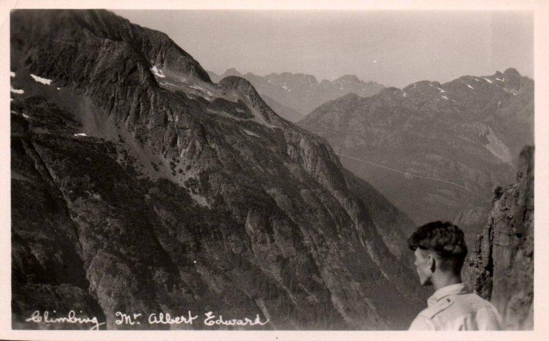 Climbing Mt Albert Edward,British Columbia,Canada BIN