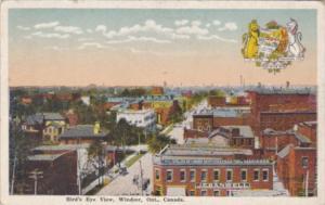 Canada Windsor Birds Eye View 1920