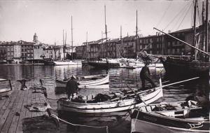 RP, SAINT-TROPEZ (Var), France, 1920-1940s; Le Port, Boats
