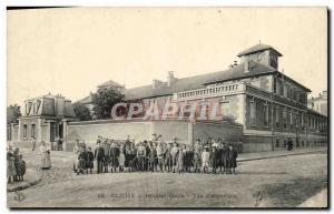 Old Postcard Clichy Hospital Gouin View D Children Together