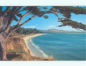 Unused Pre-1980 CHANNEL DRIVE BEACH Santa Barbara California CA d6981-12