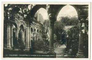 Italy, Palermo, Chiostro e Chiesa di S. Giovanni degli Eremiti, unused RP