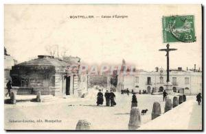 Old Postcard Bank Montpellier Caisse d & # 39Epargne