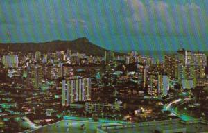 Hawaii Honolulu View From La Ronde Revolving Restaurant