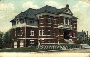 Municipal Building  East Rutherford NJ 1910 missing stamp