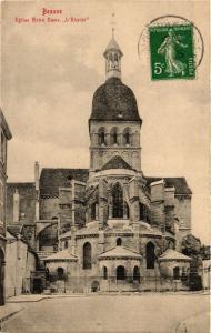 CPA BEAUNE - Église Notre-Dame L'Abside (353980)