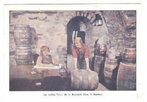 La Brasserie du Ray, GLes voutes Talon de la Brasserie Dow, a Quebec, Canad...
