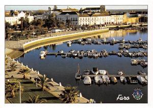 Portugal Faro Algarve Harbour Boats Bateaux Port Promenade