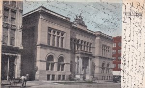 INDIANAPOLIS, Indiana, PU-1908; Public Library
