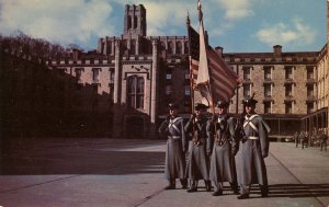 NY - West Point. Color Guard of Cadets