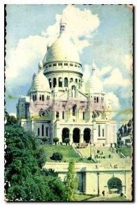 Postcard Old Paris La Basilique du Sacre Coeur