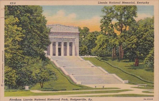 Kentucky Hodgenville Abraham Lincoln National Historical Park Curteich