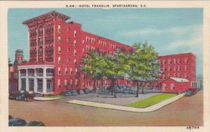 Hotel Franklin, Spartanburg, South Carolina, 1930-1940s