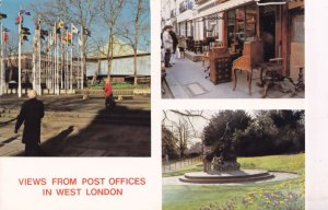 Views From Post Offices In West London 9 Elms FDC Frank Postcard