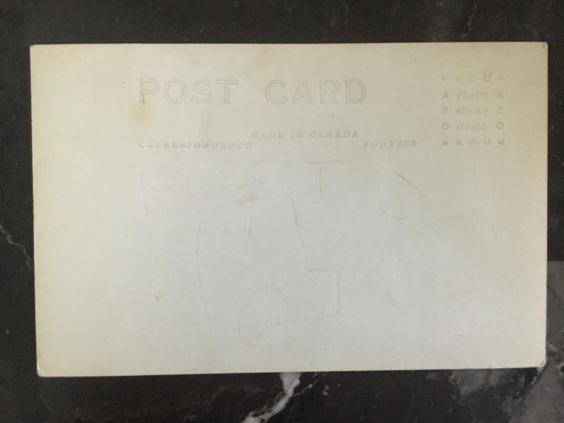 Mint Canada real picture Postcard RPPC Nickel Smelter Copper Cliff Ontario