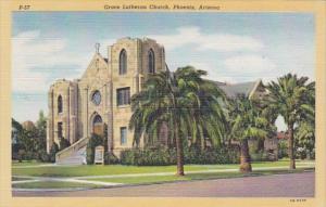 Arizona Phoenix Grace Lutheran Church Curteich