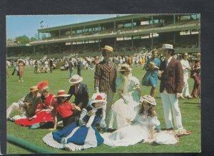 Australia Postcard - The Melbourne Cup Horse Race, Melbourne, Victoria  T8464