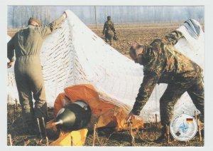 Drone after Landing KVM The Kosovo Verification Mission NATO OTAN Postcard
