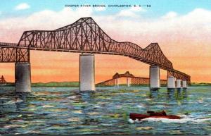 South Carolina Charleston Cooper River Bridge