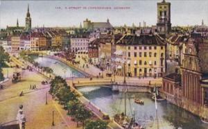 Denmark Copenhagen Street Scene