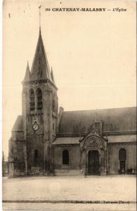 CPA CHATENAY-MALABRY L'Eglise (413665)