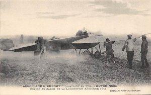 Aeroplane Nieuport Hutchinson Zeppelin Unused