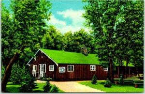 Wahpeton, North Dakota Postcard Souvenir Store, Chahinkapa Park Chrome c1950s