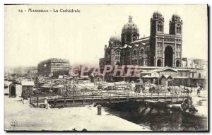 Old Postcard Marseille The Cathedral