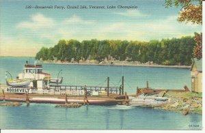 Grand Isle, Vermont, Roosevelt Ferry, Lake Champlain