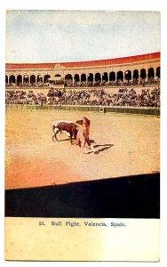 Spain - Valencia. Bull Fight