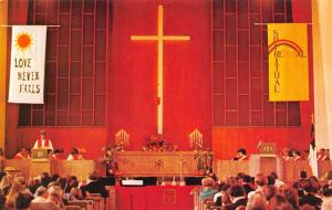 Walnut Creek California~United Methodist Church Interior~Spiritual Renewal~1960s