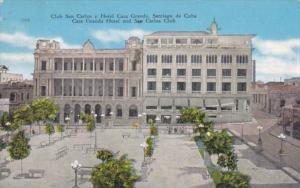 Cuba Havana Casa Grande Hotel and San Carlos Club 1946
