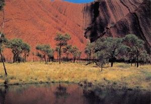 Postcard Maggie Springs, Ayers Rock, Northern Territory, Australia #344